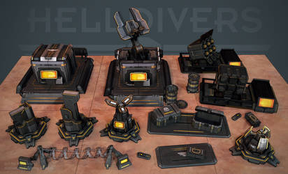 Helldivers - Helldiver Tech Wires