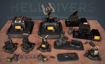 Helldivers - Helldiver Tech by OskarKuijken