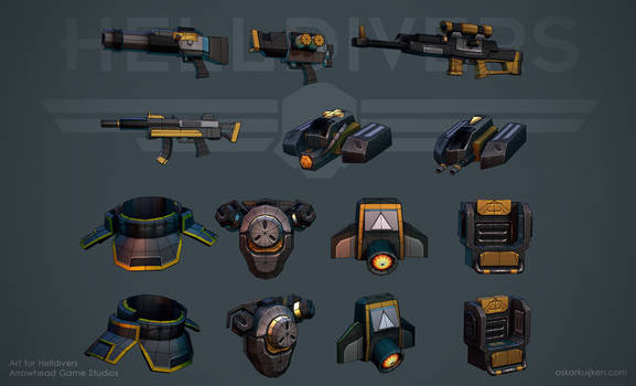 Helldivers - Equipment Wires