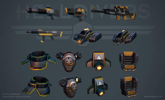 Helldivers - Equipment
