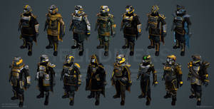 Helldivers - Armors Overview