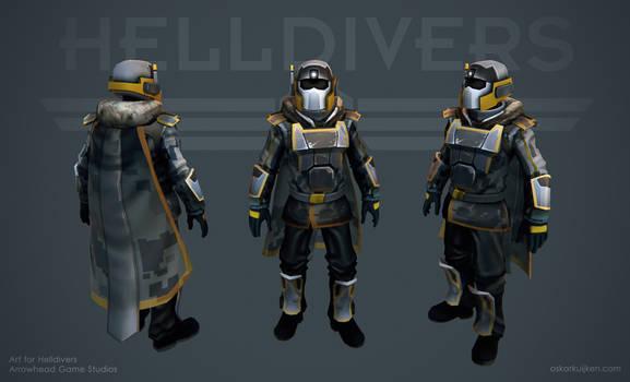 Helldivers - Arctic Armor