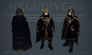 Helldivers - Ranger Armor by OskarKuijken