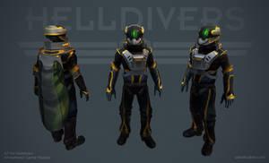 Helldivers - Pilot Armor by OskarKuijken
