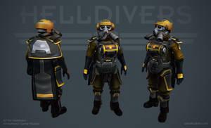 Helldivers - Hazard Ops Armor by OskarKuijken