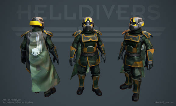 Helldivers - Woodland Armor