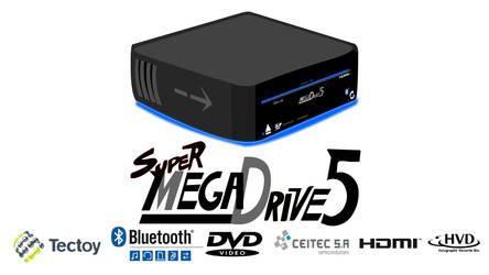 super megadrive 5 by arineu