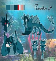 Poseidon's Reference Sheet by RandomComicSheet