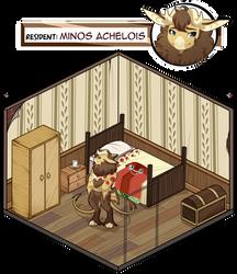 Minos's Cranny Room by RandomComicSheet