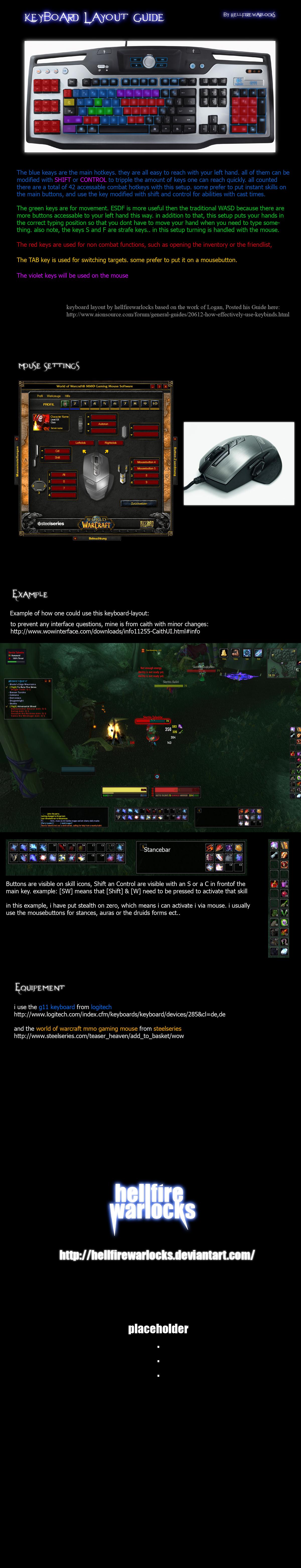 MMO Keyboard Layout Guide by HellfireWarlocks
