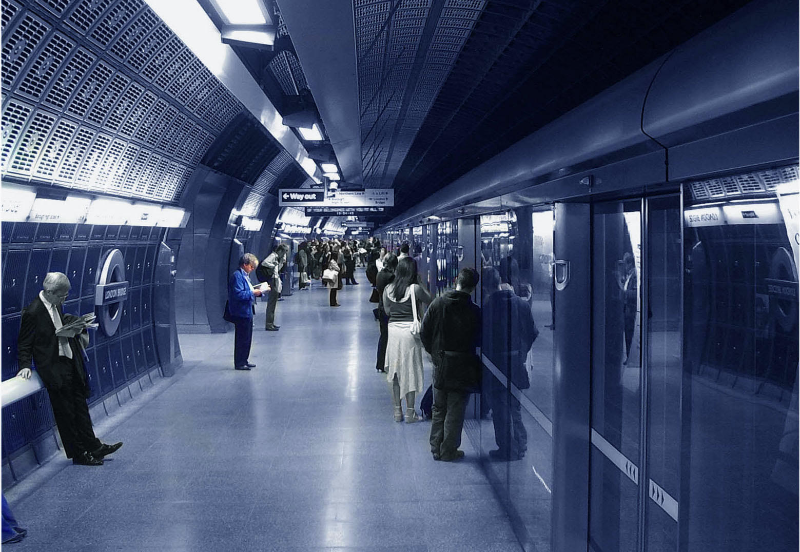 underground london by jameswesty
