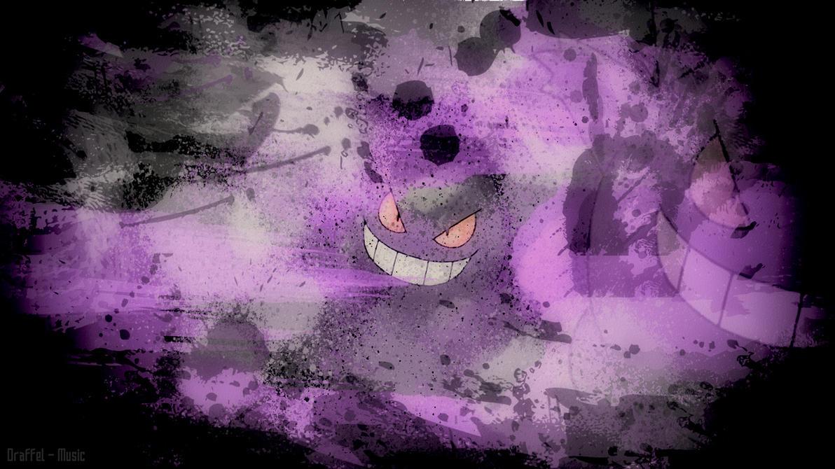 Pokemon Gengar Wallpaper By Draffel