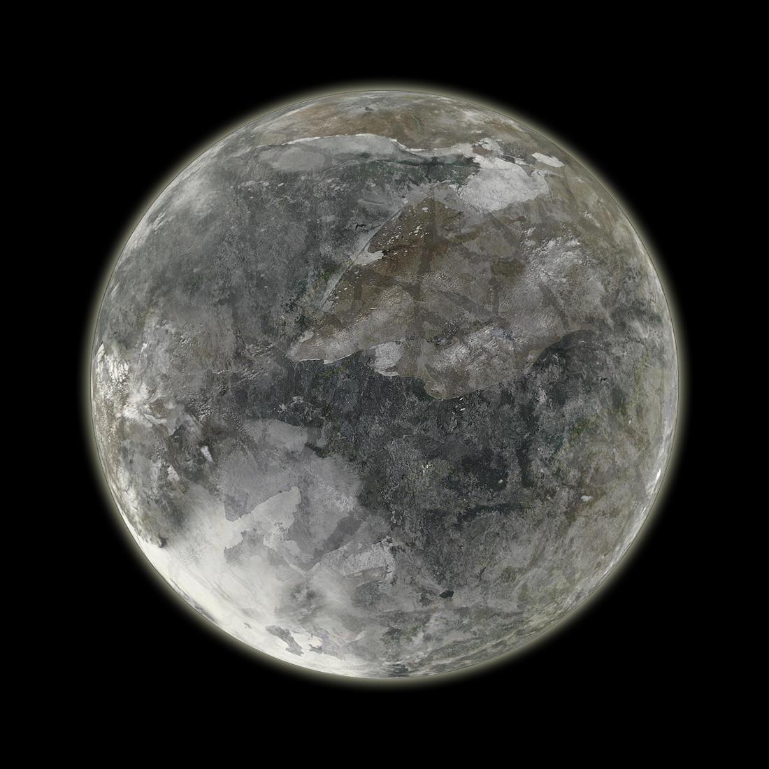 pluto planet cartoon - HD1100×1100