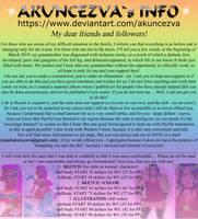 AKUNCEZVA`s INFO by AKUNCEZVA