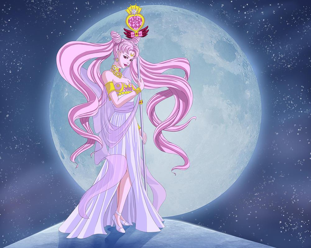 Queen ChibiUsa by PatriciaPM