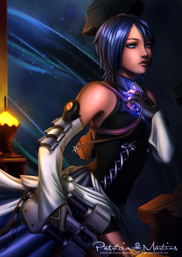 Aqua - Kingdiom Hearts 2.8 by PatriciaPM