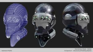 Futuristic Helmet Project