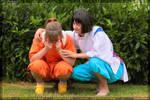 Chihiro and Haku by Skimpel