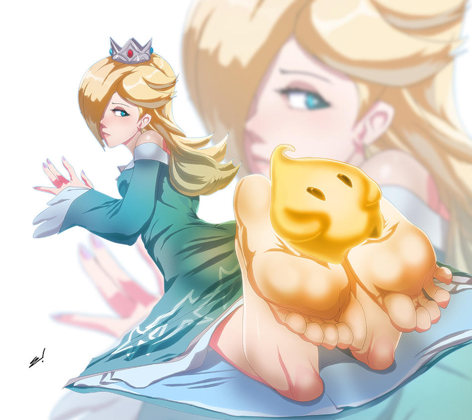 Rosalina is really tall - Super Smash Bros  for Wii U