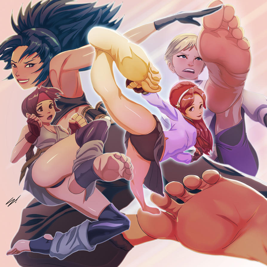 KOF BF All-Stars 1 by scamwich
