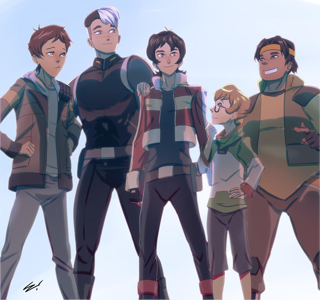 Them Voltron Boys by scamwich