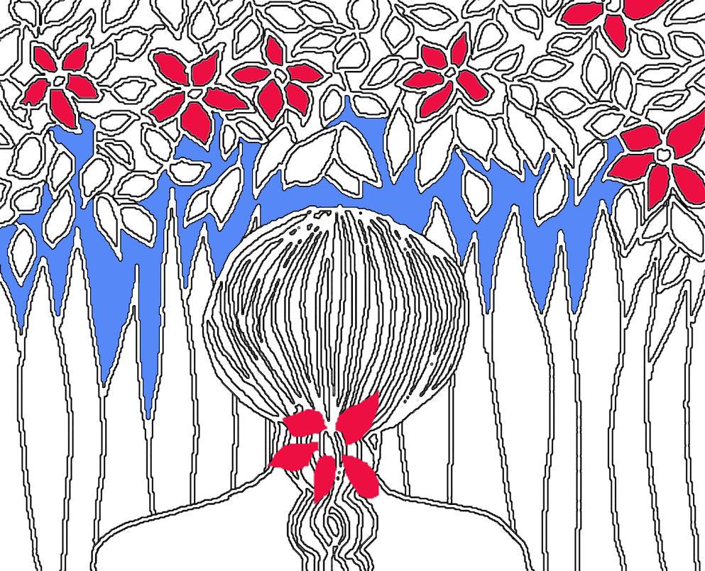 Mi hibisco y yo by lopillas
