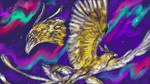 Frank the Thunderbird Sketch by dragonofdivinewind