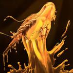 Temeraire Dragons- Molten Gold