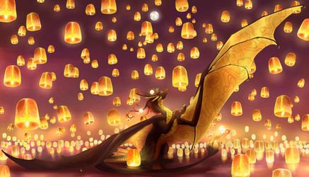 Flight of the Lanterns