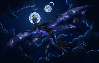 Storm Summoner by dragonofdivinewind