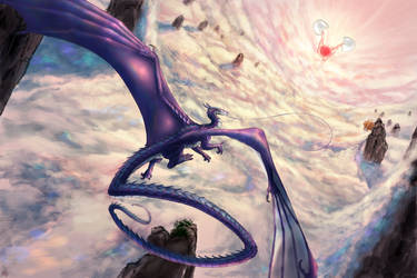 Viridael And The Crack Of Dawn by Revontulis
