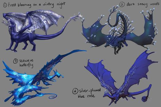 Dragon Adopts   Blue Quartet [CLOSED]