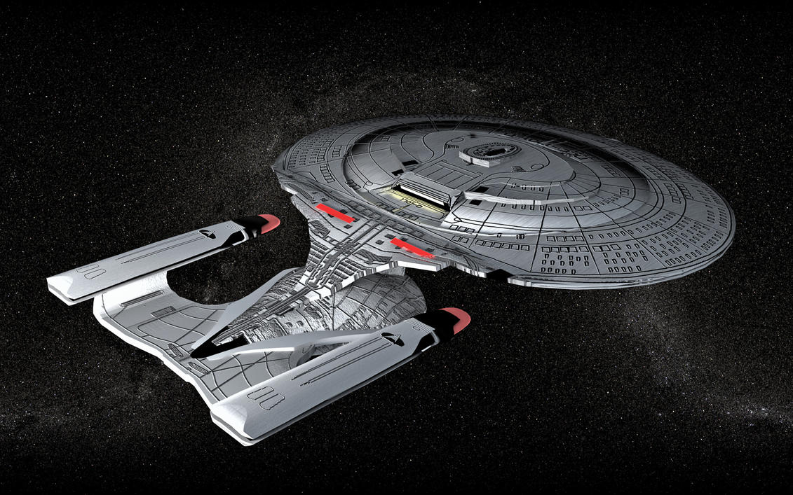 Star Trek - Enterprise D by maxmayhem