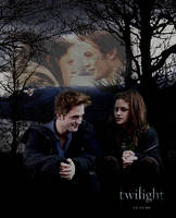 Sitting - Edward and Bella by MiracleHeart