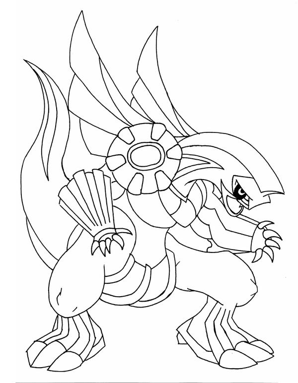Palkia Coloring Pages Coloring