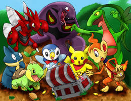 Mystery Dungeon - Pokemon by MiracleHeart