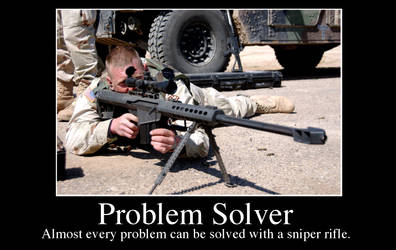 Sniper- Solution by Fribit