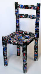 Pepsi Max Chair by Fribit