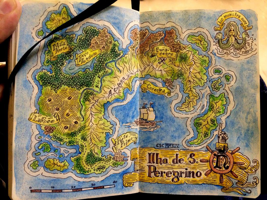 St  Pilgrim Island Map by cassioscosta