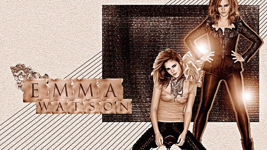 Emma Watson Wallpaper. by Sheiswonderful