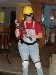 TF2 RED Engineer Cosplay - Who's Next?
