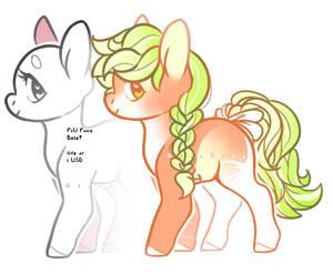 BabyDoll Pony Base + Adopt OPEN