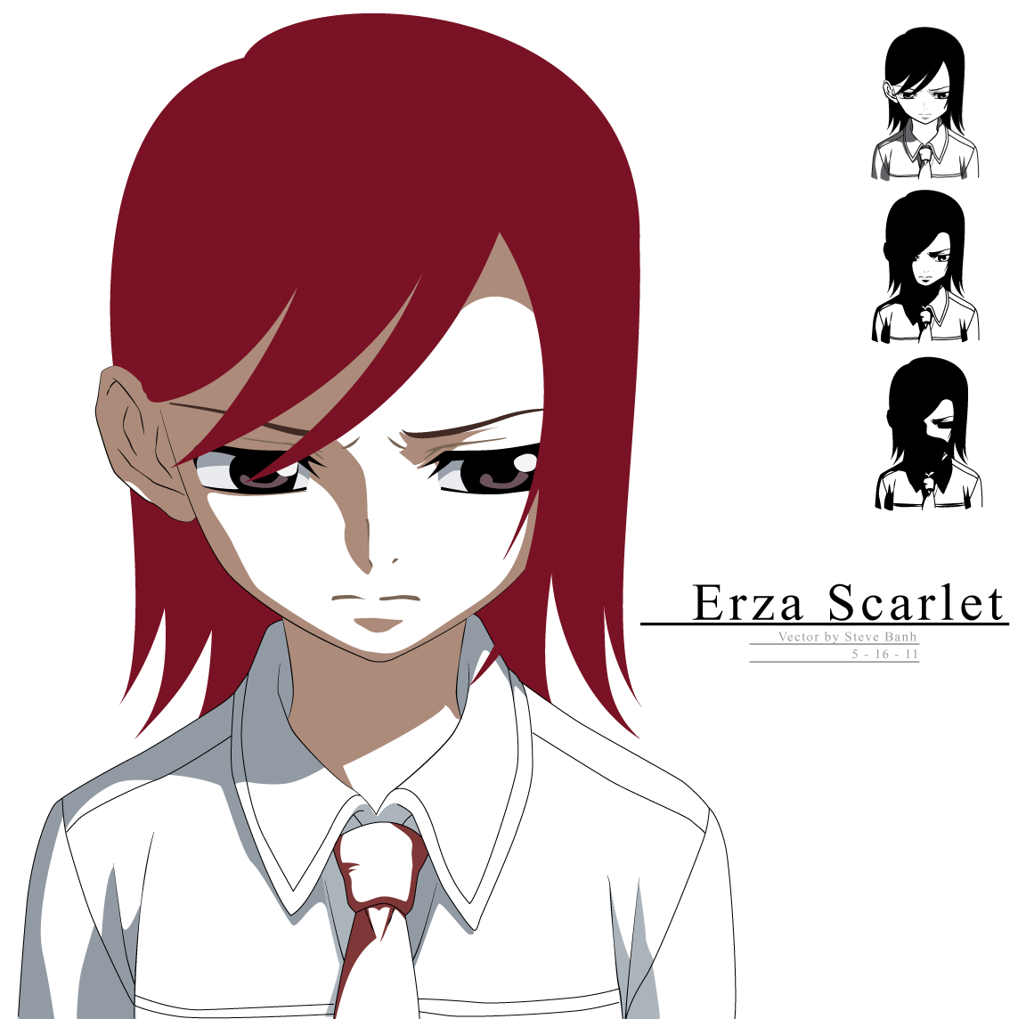 Young Erza Vector By Essynthesis On DeviantArt