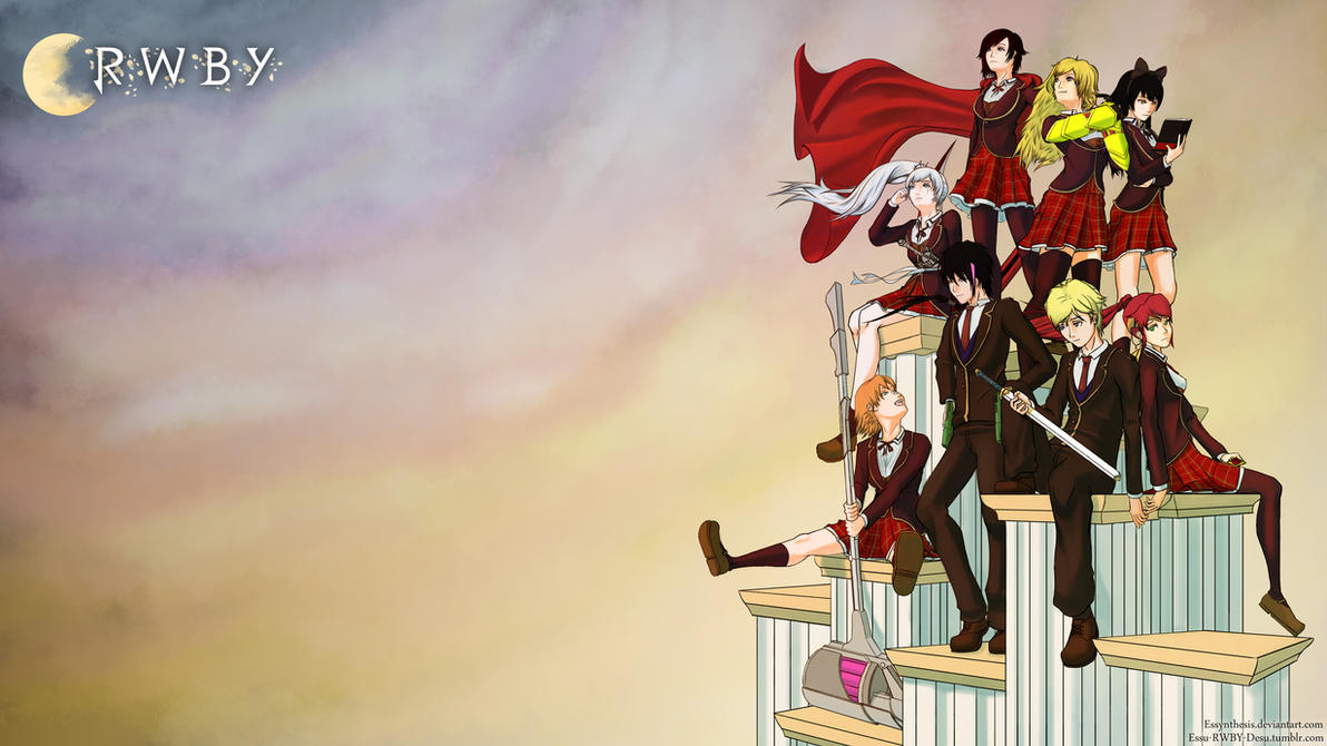 RWBY Team And JNPR Wallpaper By Essynthesis