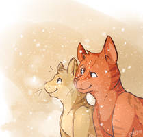 Quiet like the Snow by Sunny--San