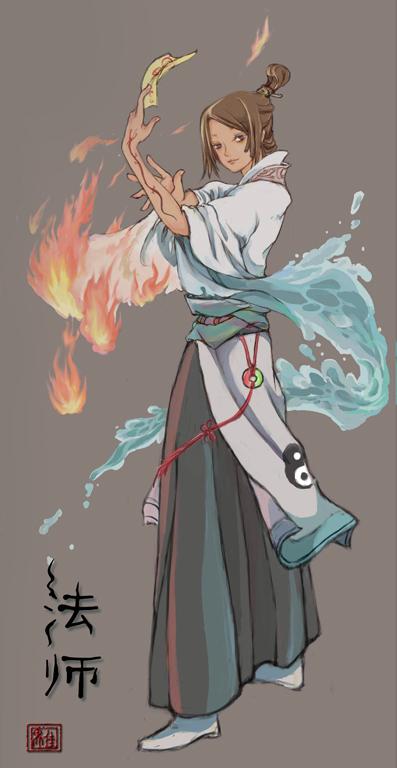 Sorcerer -China by Lily-Yi