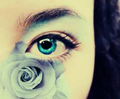 Emma's Eye Blue by AlexCarata