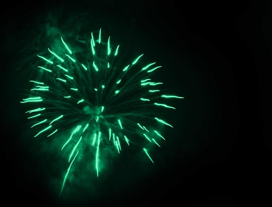 Green Fireworks Wallpaper | www.imgkid.com - The Image Kid ...