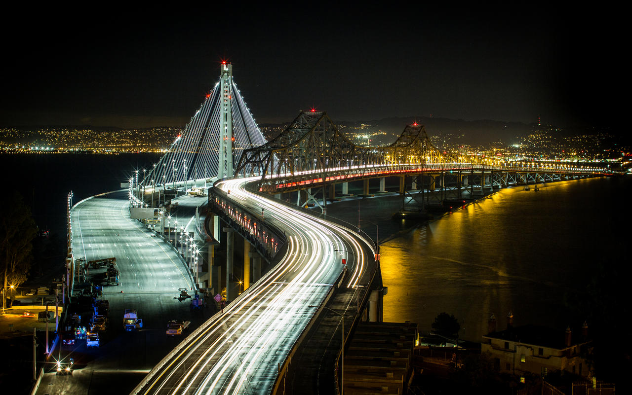 Ode to the BAY BRIDGE by thevictor2225