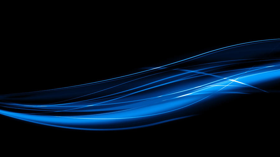 Blue Wavy Lines Wallpaper By 13luizhenrique On Deviantart